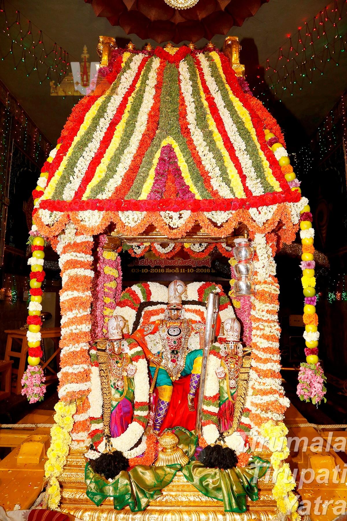 Sarva Bhupala Vahanam
