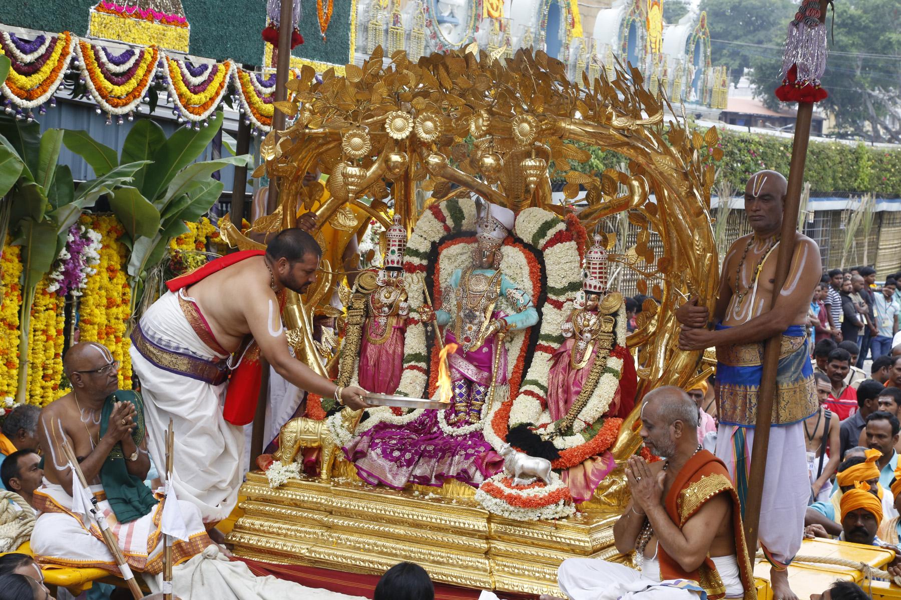 Kalpavrukshna Vahanam 2017