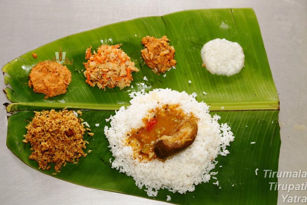 Anna Prasadam Food items