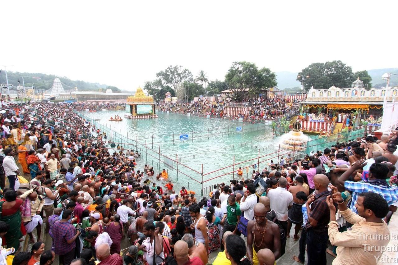 Swami Pushkarini, Tirumala