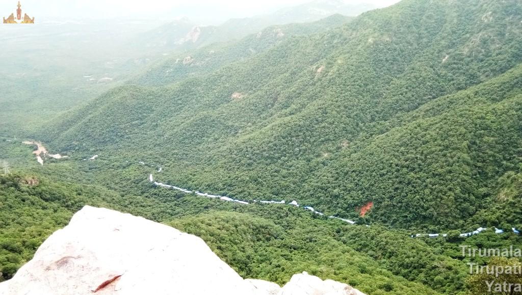 Sri Vari mettu Aerial way from hills