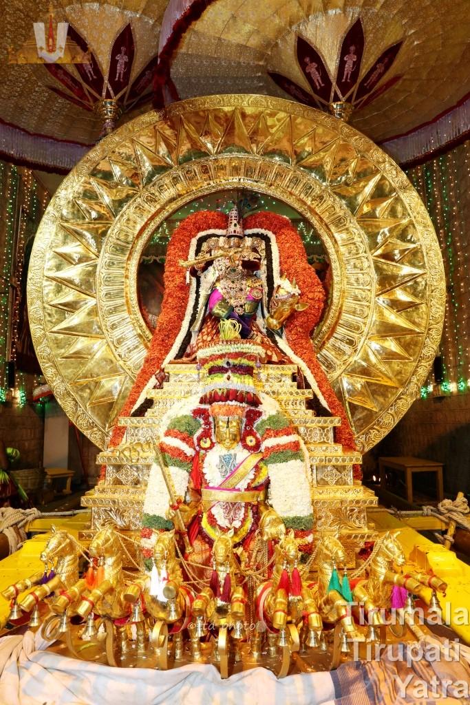 Surya Prabha Vahanam
