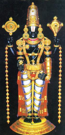 Lord Srinivasa Posture