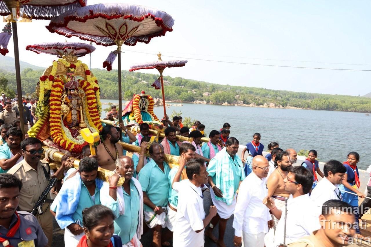 Kanuma Paruveta Utsavam Tirumala